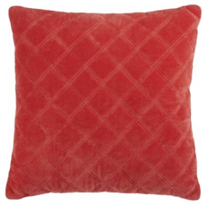 "Coussin ""Square"" Corail"