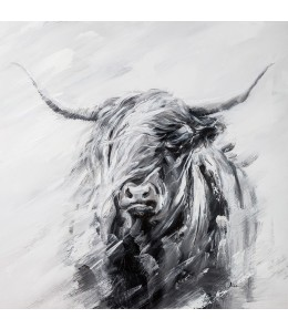 VACHE HIGHLANDS IMPRESSION SUR TOILE