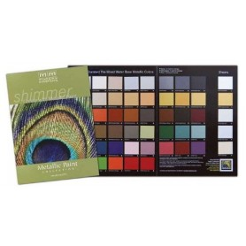 Metallic Paint Collection Color Card