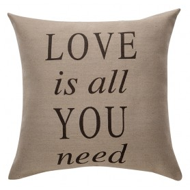 Coussin Love Is All You Need