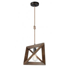 Suspension en Bois Simple