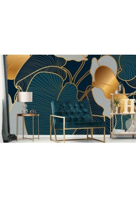MURALE FEUILLAGE PHILODENDRON