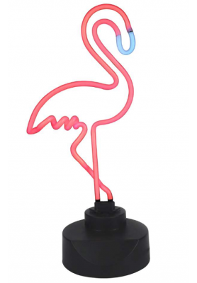 Lampe Flamant Rose