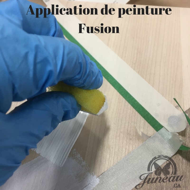 Application de peinture Fusion
